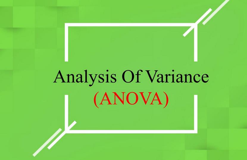Analysis of variance assignment help-ANOVA assignment help