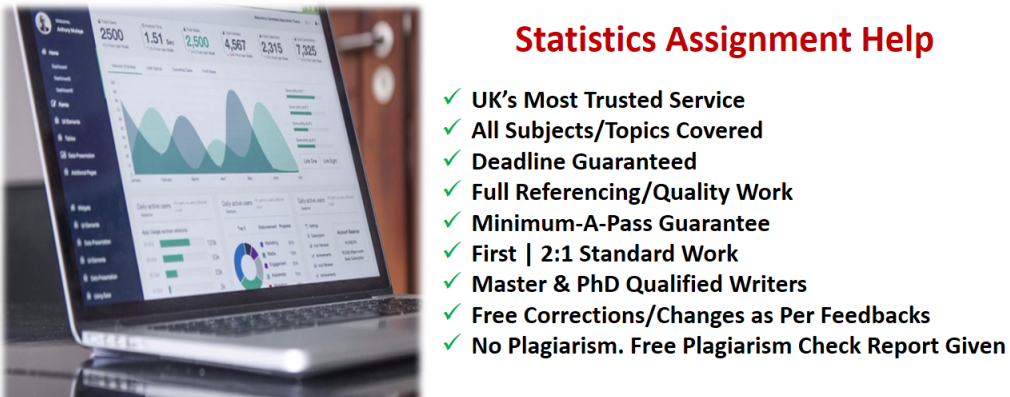 best statistics assignment help in UK